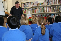 TALL TALES: Actor and artist Wayne O'Connor will host a storytelling event for kids in Sligo Library tomorrow (Friday) afternoon at 12.30pm