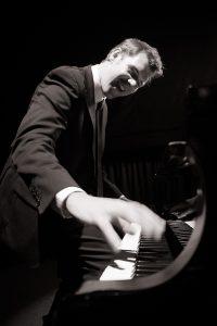 PIANO MAN: Sligo musician Kieran Quinn will play 32 different pianos on tour.