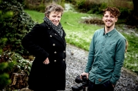 SPEAKERS: Illustrator Annie West and Photographer Christian McLeod, both of whom will speak at Swell Sligo Photo: James Connolly / PicSell8 16JAN15