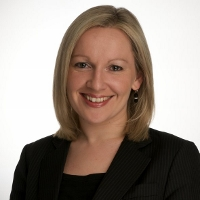 VISIT: Lucinda Creighton was in Sligo on Tuesday.