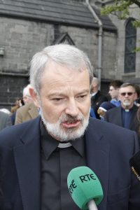 OFFENCE: Bishop Kevin Doran issued an apology for any offence his comments on parenting may have caused.