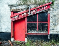 DERELICT: The Anglers Rest in Ballinafad.