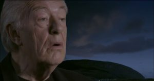 READING: A still from the Yeats video featuring Sir Michael Gambon.