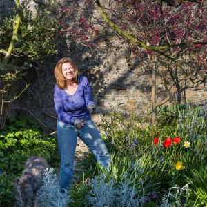 PROJECT: Lorely Forrester has taken on the daunting task of delivering a garden for bloom.