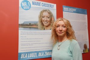 Independent councillor Marie Casserly
