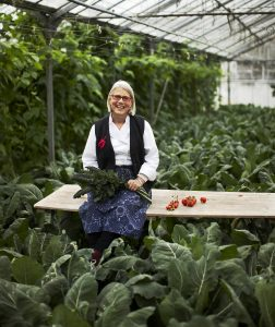COOKERY: Darina Allen will be giving a cookery demonstration at the Organic Centre.
