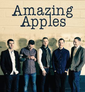 MUSIC: Galway five-piece Amazing Apples will play on Saturday.