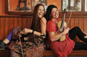 FIDDLE: The Kane Sisters, Yvonne and Liz, will play at the Hawk's Well on July 20.