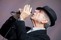TOP GIG: Leonard Cohen played in Lissadell in 2010. Pic by (C) Colin Gillen/framelight.ie
