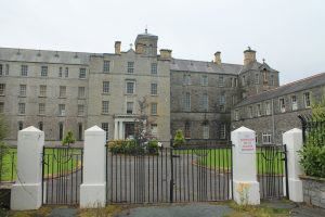 FOR SALE: The former Summerhill College building may be converted into a hotel or nursing home.