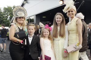 Tracey, JP and Clarn McGuinness with Roma and Carina Clarke.