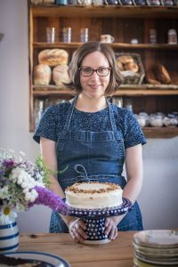 INGREDIENTS: Dervla James will begin baking classes in her Pudding Row Cafe in Easkey next week.