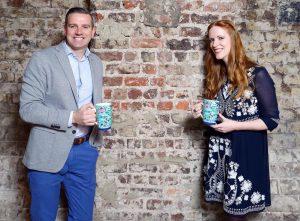 Bewley's Brand Director, Mark Saunders and Paula McGloin. Photo by Marc O'Sullivan.