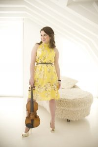 CONCERT: Violinist Chloe Hanslip will play on April 8.