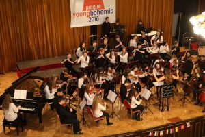 Sligo Academy of Music performing in Prague