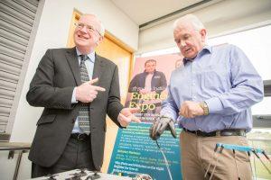 TECHNOLOGY: Fergal Broder of LotusWorks and Vincent Cunnane, President of IT Sligo.