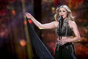 SINGER: Kelesa Mulcahy during the  Semi Final of The Voice Of Ireland in The Helix.