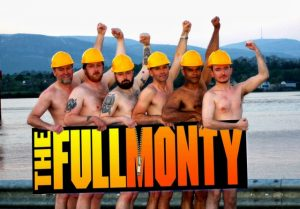 "CAST: The six brave men who will star in ""The Full Monty""."