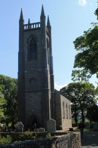 BREAK IN: An estimated €10,000 worth of damage was done in the break in at Drumcliffe Church.