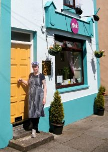 NEW BUSINESS: Ethna Reynolds outside here new business 'Nook' in Collooney.