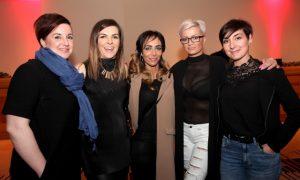 Jeanette Wilders, Grace O'Hehir, Martina Delaney, Sylvia Gilroy and Izabela Szczegodzinska.