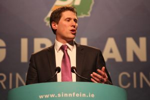 REFERENDUM: Sinn Fein MEP Matt Carthy wants a referendum on a united Ireland in the wake of Brexit.