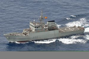 VESSEL: The OPV Centinela will visit Sligo Bay later this month.