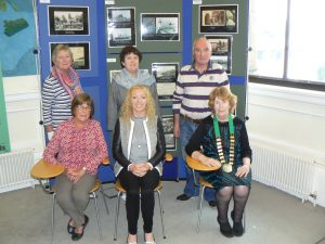 LAUNCH: Mayor of Sligo Cllr Marie Casserly (seated, centre) with members of the Sligo Town Twinning Committee at the opening of the exhibition of Crozon in 2015.