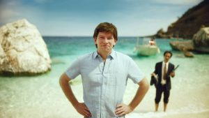 ACTOR: Bob Kelly appears in a Euromillions advert as the lucky winner who purchases an island