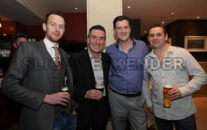 Gary Mc Goldrick, Kieran Flynn, Jimmy DUnleavy and Pauric Lang - Sligo Weekender | Sligo News | Sligo Sport