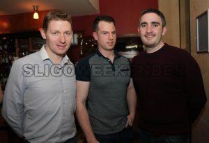 Gavin Mc Donagh, Mark O'Daly and Gary Hourigan - Sligo Weekender | Sligo News | Sligo Sport