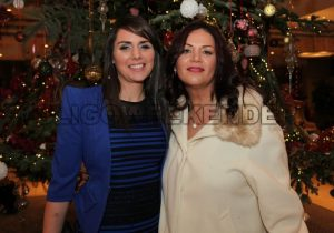 Sharon Gannon and Andrea Toth attended the SF Engineering Christmas Party. - Sligo Weekender | Sligo News | Sligo Sport