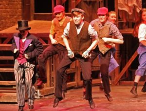 """Oliver"" the musical in the Hawk's Well Theatre"