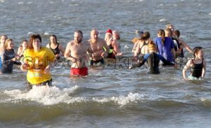 New Year's Day Swim in Rosses Point