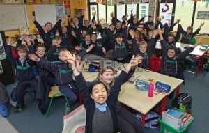 school excited school children.jpg - Sligo Weekender | Sligo News | Sligo Sport