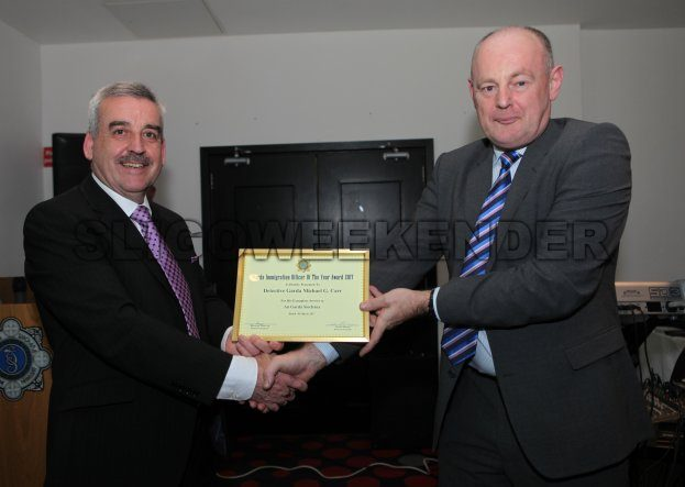 garda Mulderrig Award.jpg - Sligo Weekender   Sligo News   Sligo Sport