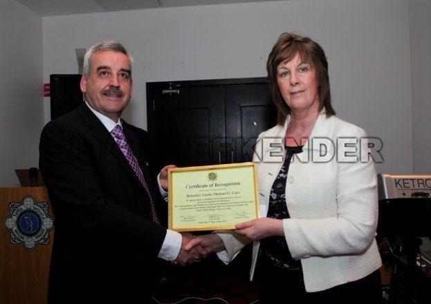 garda Murray Carr presentation.jpg - Sligo Weekender | Sligo News | Sligo Sport