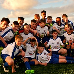 SFAI Boys Under 14 Connacht Cup Final involving Merville FC from Sligo