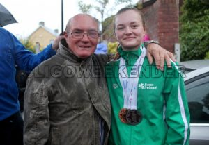 06 new swimmer M Mc Sharry and grand father.jpg - Sligo Weekender | Sligo News | Sligo Sport
