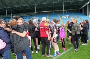ladies fans celebrate.jpg - Sligo Weekender | Sligo News | Sligo Sport