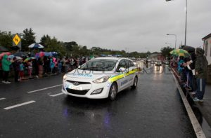 swimmer Garda escort.jpg - Sligo Weekender | Sligo News | Sligo Sport