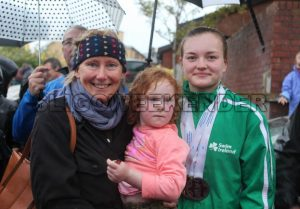 swimmer M Mc Sharry and fans 1.jpg - Sligo Weekender | Sligo News | Sligo Sport
