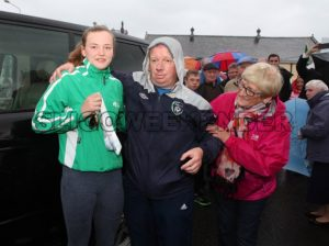 swimmer M Mc Sharry and fans 2.jpg - Sligo Weekender | Sligo News | Sligo Sport
