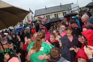swimmer M Mc Sharry and fans.jpg - Sligo Weekender | Sligo News | Sligo Sport