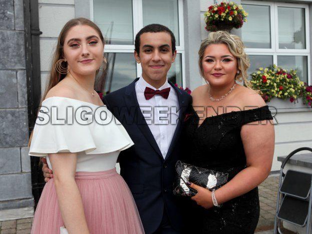 17 new grammar Byrne Daouki Patterson.jpg - Sligo Weekender | Sligo News | Sligo Sport